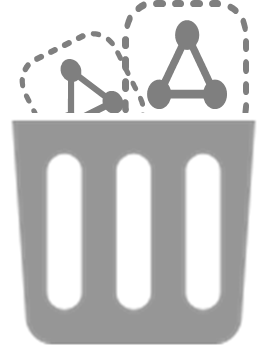 disposable infrastructure icon