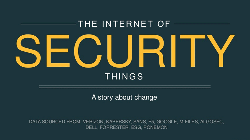 The Internet of Security Things