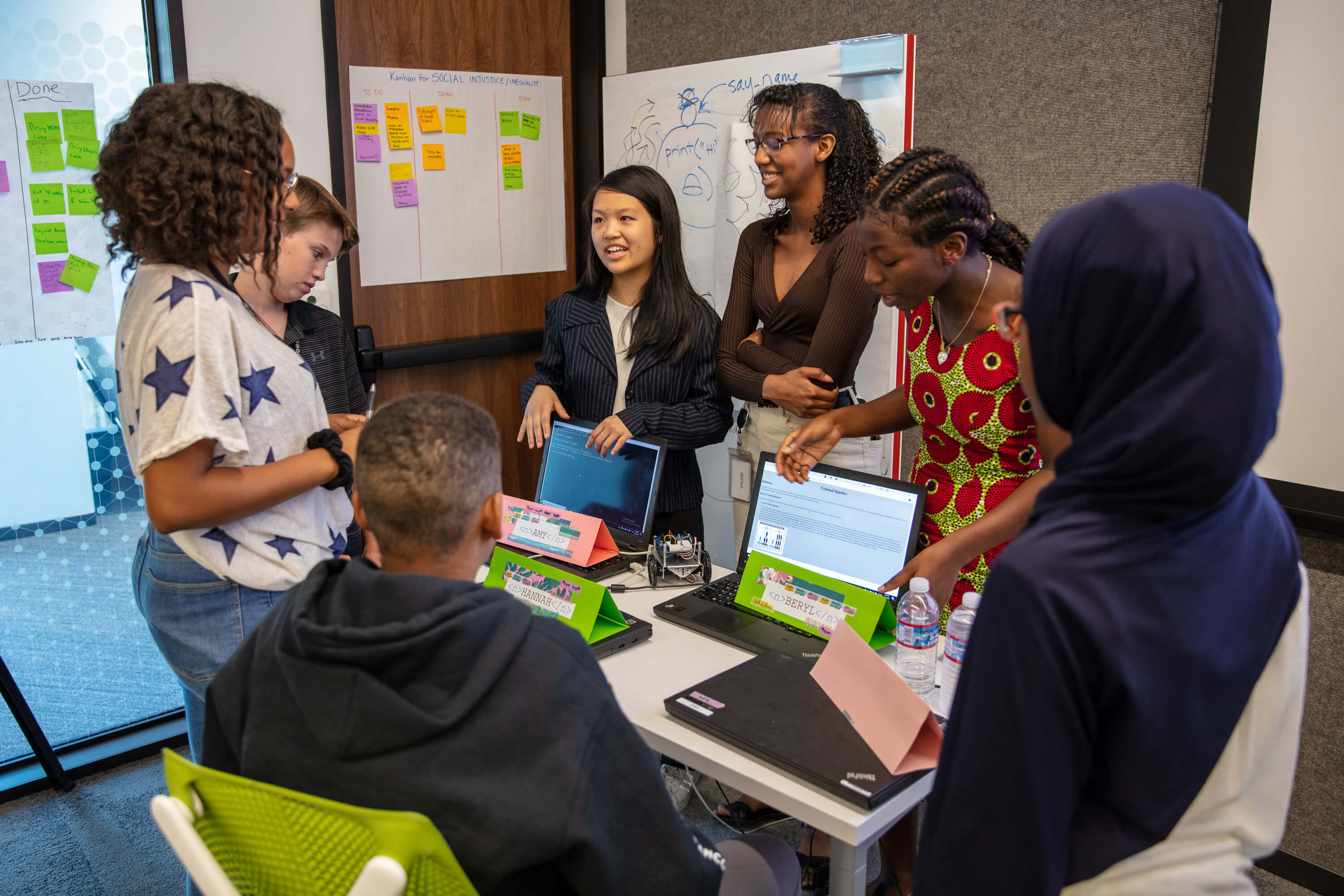 Girls Who Code Program