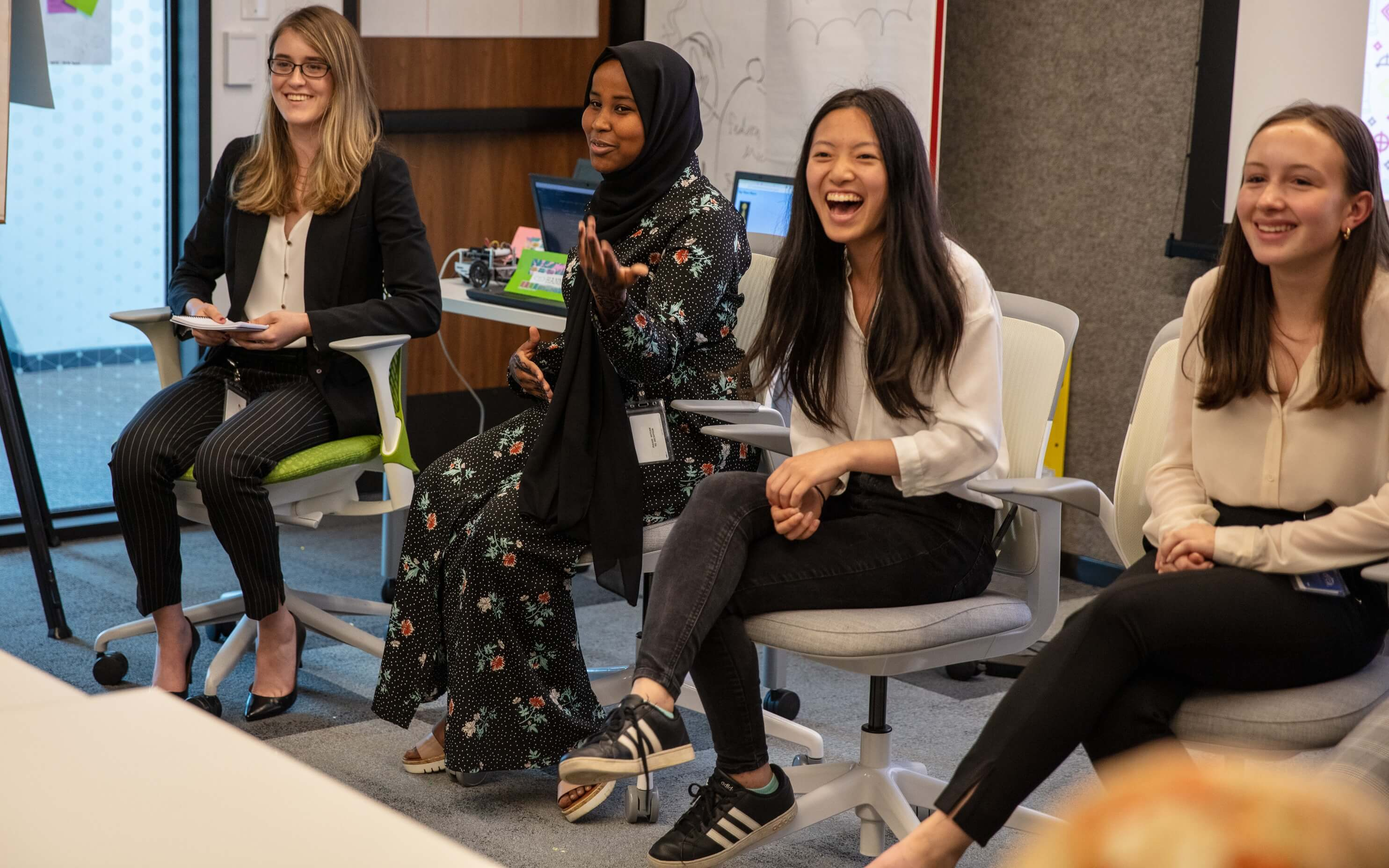 F5 Networks Girls Who Code