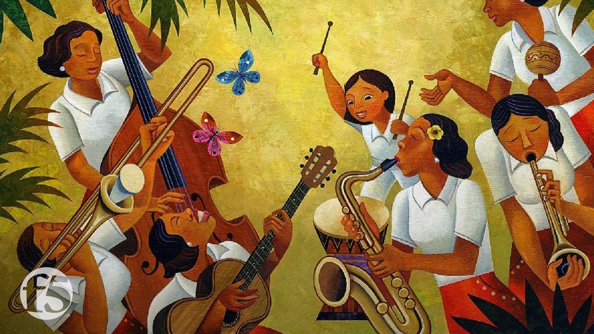 Hispanic Zoom backgrounds F5