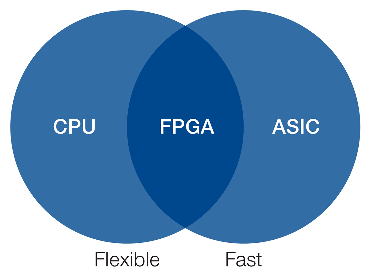 CPUs, ASICs, and FPGAs